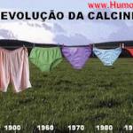 » Imagem: A Evolução da Calcinha