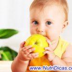 Alimentação saudável em Crianças menores de 2 anos