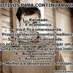 10 Motivos para continuar Virgem