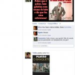 O Status do Facebook da Carminha