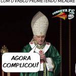 Após renuncia Papa acerta com o Vasco