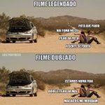 Diferença entre filme legendado e dublado