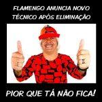 Piadas do Flamengo após mais uma eliminação
