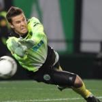 Chapecoense anuncia acerto com o goleiro Marcelo Boeck, do Sporting