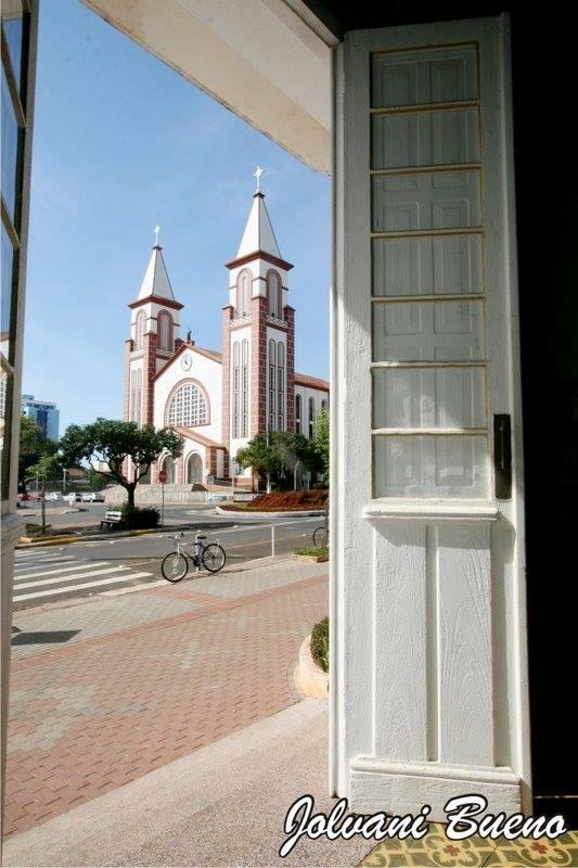 foto da igreja chapeco