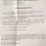 Eduardo Cunha acaba de ser preso em Brasília.