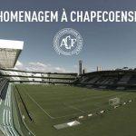 Couto Pereira recebe homenagem à Chapecoense nesta quarta